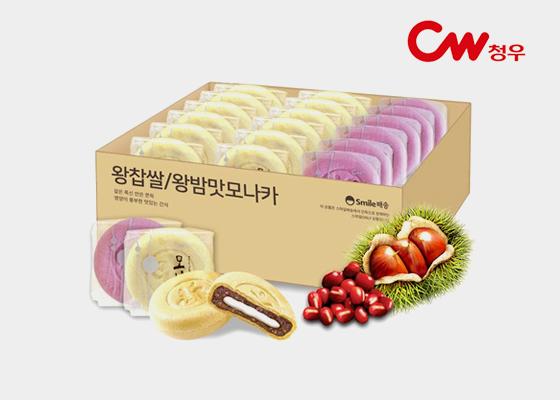 [단독 판매] 찹쌀+밤! 모나카 27개입