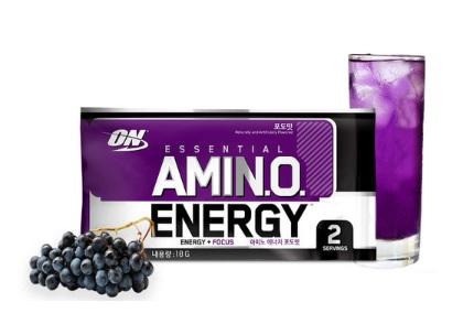아미노에너지 포도맛 샘플