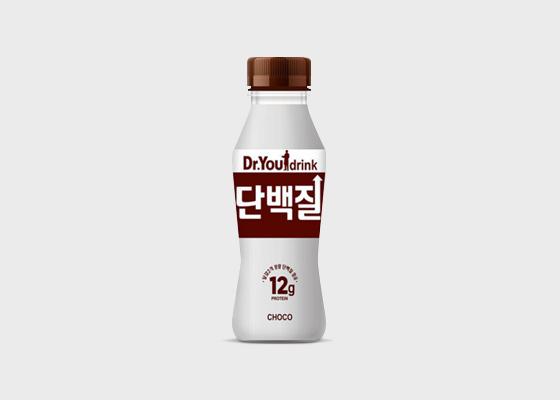 닥터유 단백질 드링크 초코/바나나맛 240ml*12개