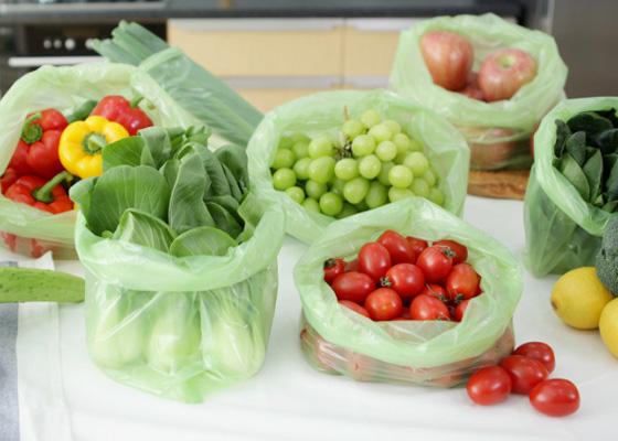 키핑백 음식부패방지/야채 신선보관 비닐