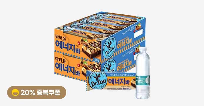 닥터유 에너지바 40g x30개+증정