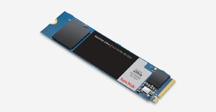 샌디스크 Ultra M.2 NVMe 3D SSD 500GB