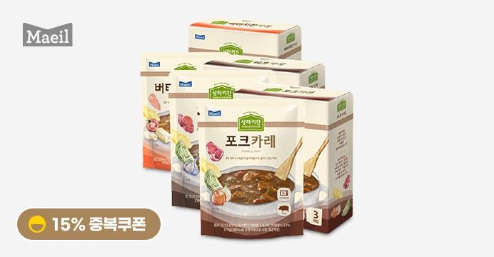 상하목장 카레 3가지맛 각3팩