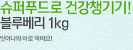 씻어나와 바로먹는 블루베리 1kg