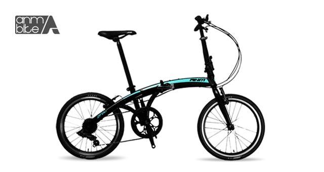 ANM ZF20 F1 7단 접이식 자전거