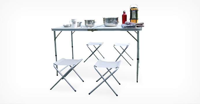 카르닉 테이블 체어세트 (테이블+의자4개)