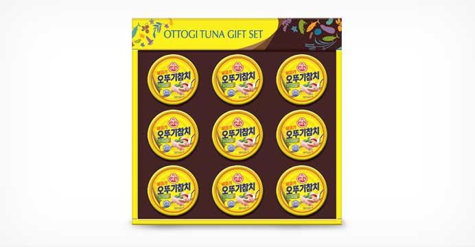 오뚜기 NH1호 추석선물세트(참치 9캔)