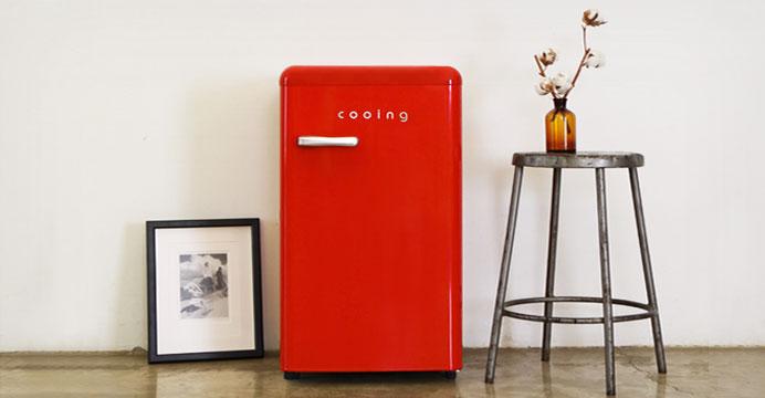 10% 환급가능! 쿠잉 유럽형 스타일리쉬 냉장고