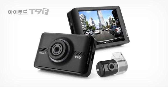 아이로드 전후방 풀HD 블랙박스 T9F+GPS