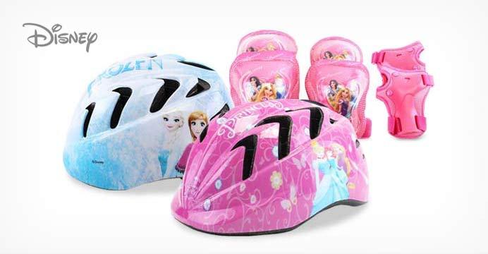 디즈니 아동 보호장구 모음 (가방/보호대/헬멧)