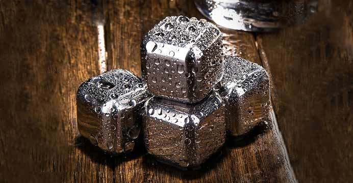 큐브의 비밀 스테인레스 얼음