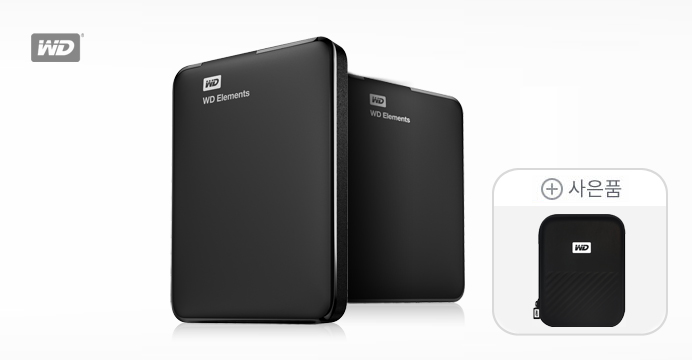 WD Elements Portable 4TB 외장하드
