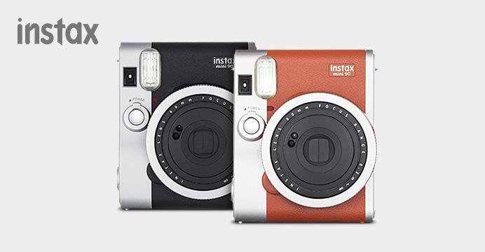 인스탁스 90+흑백필름+특별사은품 set