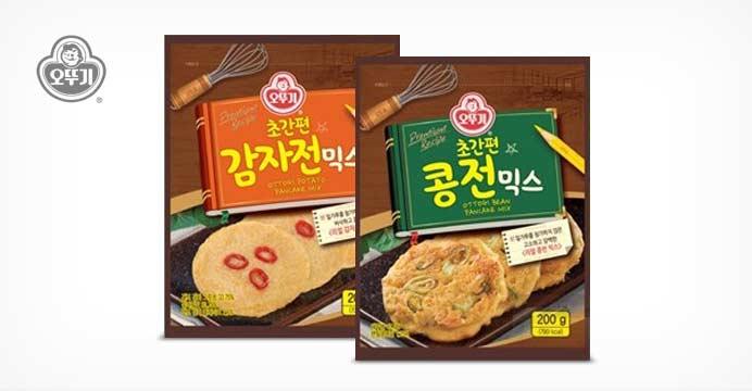초간편 감자전/ 콩전 믹스200g 2개