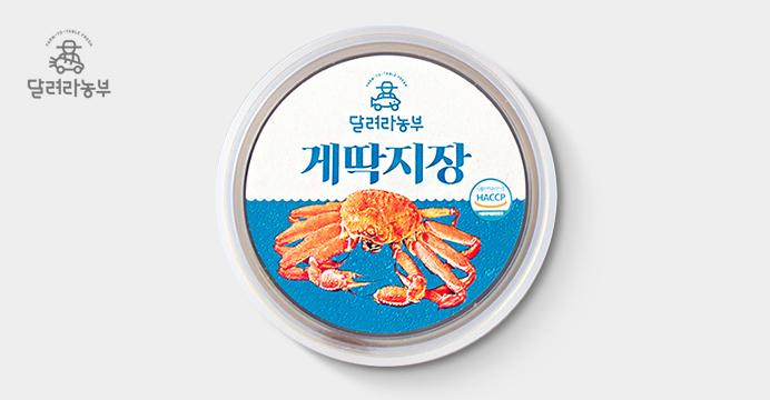 달려라 농부 영덕 게딱지장 90g x 3캔