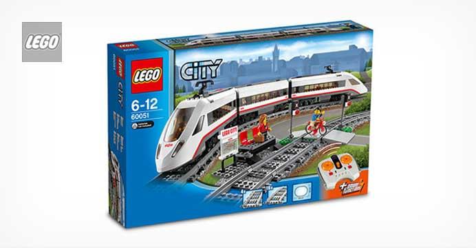 한정수량특가! 레고 60051 시티 고속열차