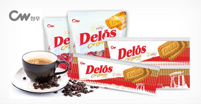 커피과자! 델로스 대용량 100개입(1봉지)