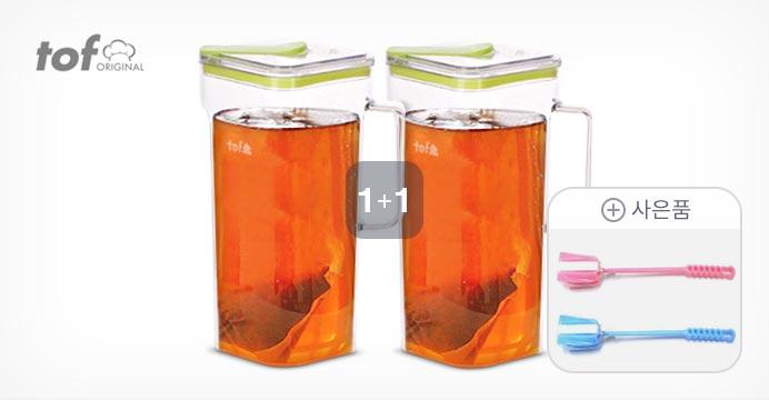 토프 트라이탄 깨끗한 물병 2개+세척솔