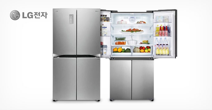 LG 양문형냉장고 906L