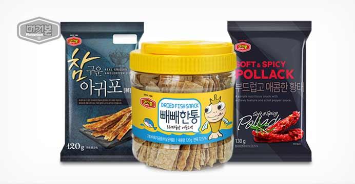 신상품 단독!아귀포/황태포/꾸이큰통/빼빼한통