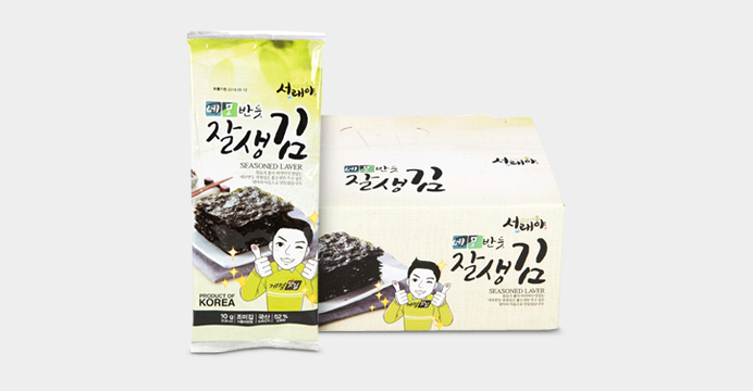 서천 잘생김 반절김 5매x15봉