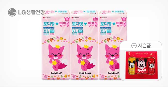 핑크퐁 에어슬림/밴드 3팩+핸드크림세트