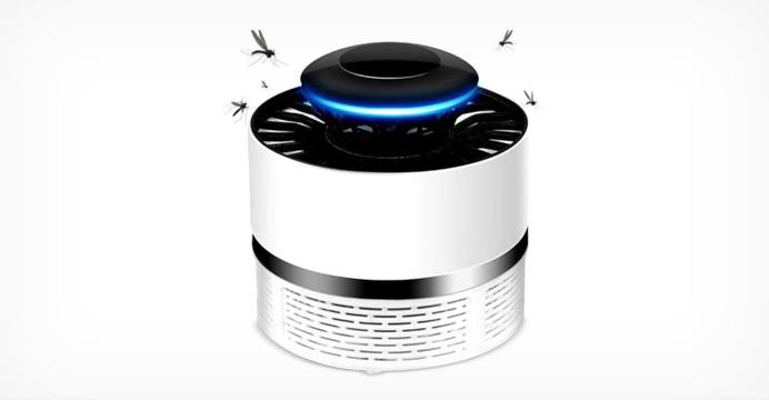 USB 전원 벌레 트랩 LED 램프 모기 퇴치기