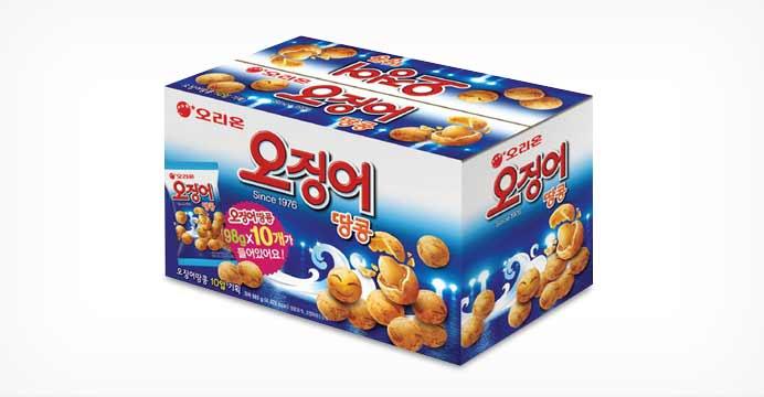 주말피크닉준비! 오징어땅콩 1박스(10봉지)