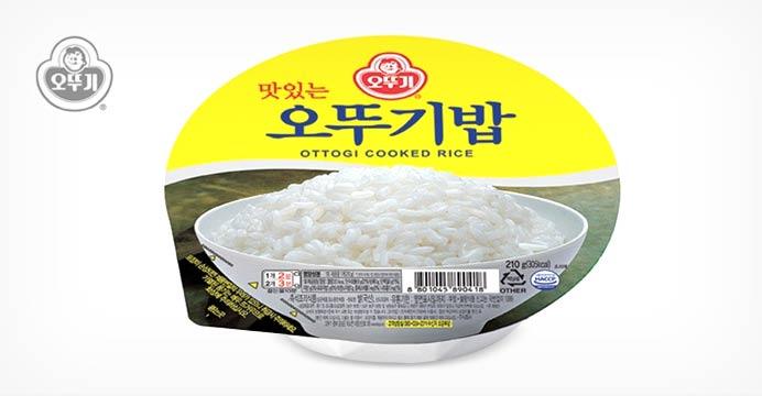 [무료배송+쿠폰] 오뚜기밥 24개 1박스