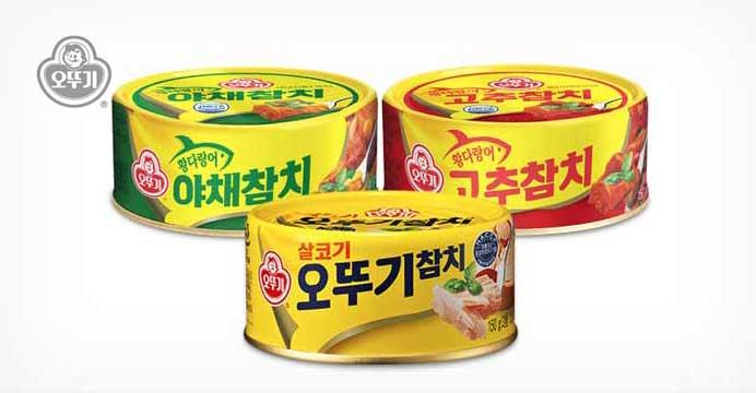 [15%쿠폰] 오뚜기 참치/야채/고추 12개
