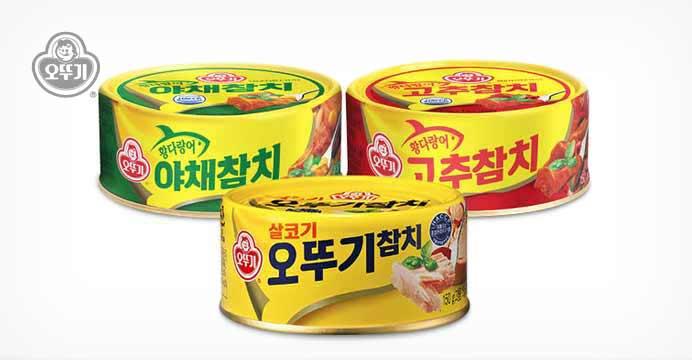 [무배] 오뚜기 참치/야채/고추 25캔