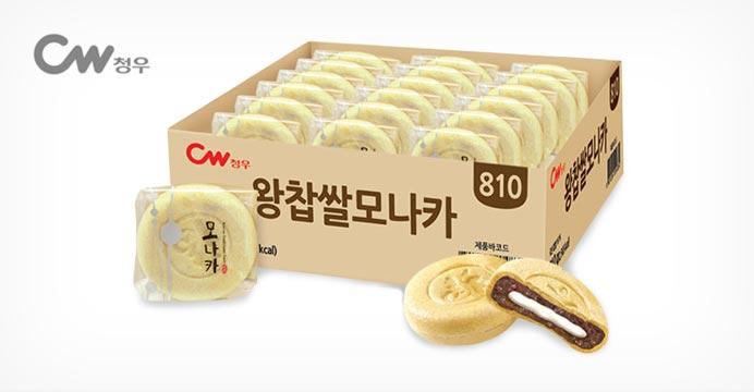 청우 왕찹쌀 모나카 27개입 (1박스)