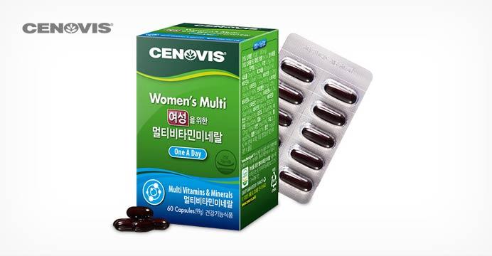 세노비스 남/여 멀티비타민 60캡슐