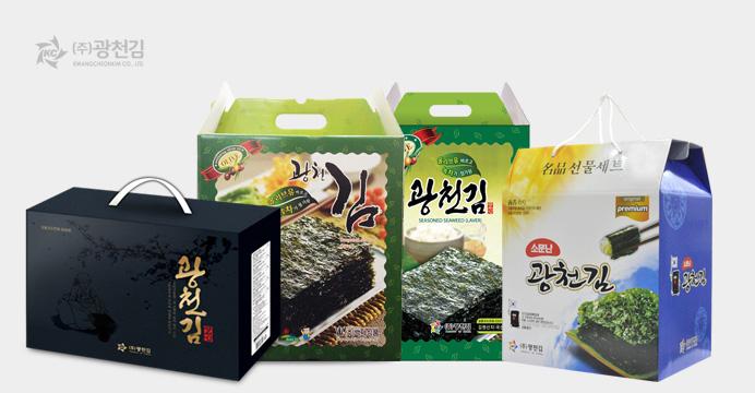 4+1이벤트 2019년 광천김 재래 파래김 설 선물