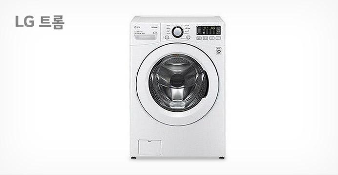 LG 트롬 드럼세탁기 화이트 16KG +7%카드할인
