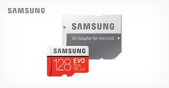 MicroSD EVO-PLUS 128GB어댑터 메모리카드
