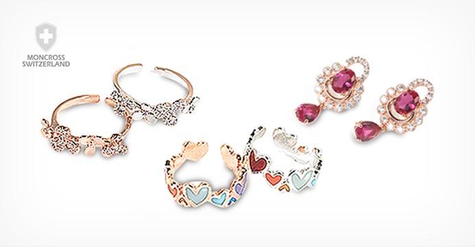 몽크로스 14K 골드 귀걸이#화이트데이선물