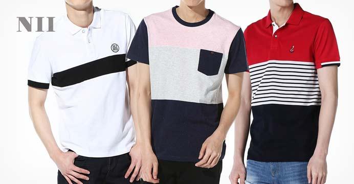NII 성인/아동 카라티 반팔 티셔츠 모음