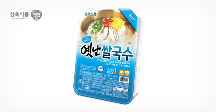 삼육 옛날쌀국수 멸치맛 92g 10개/9,010