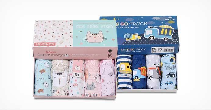 아동속옷 5매입+무료배송