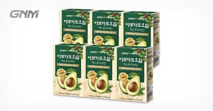 아보카도오일 엑스트라버진캡슐 6박스(6개월분)