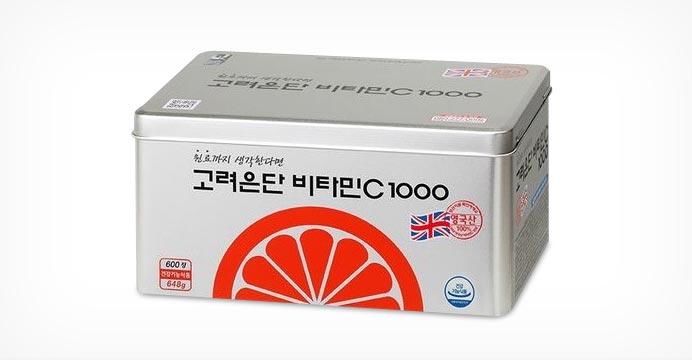 고려은단 비타민C 1000 600정+쇼핑백