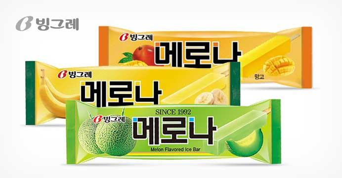 [15%쿠폰] 빙그레 메로나 3가지맛 30개입
