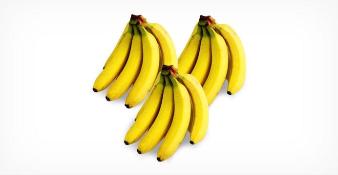 대용량특가 바나나 4.5kg (3-4다발)