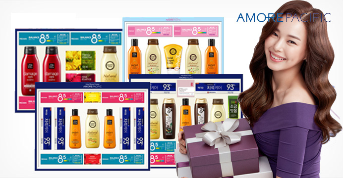 한가위 빅세일★ 아모레 선물세트 3호+쇼핑백