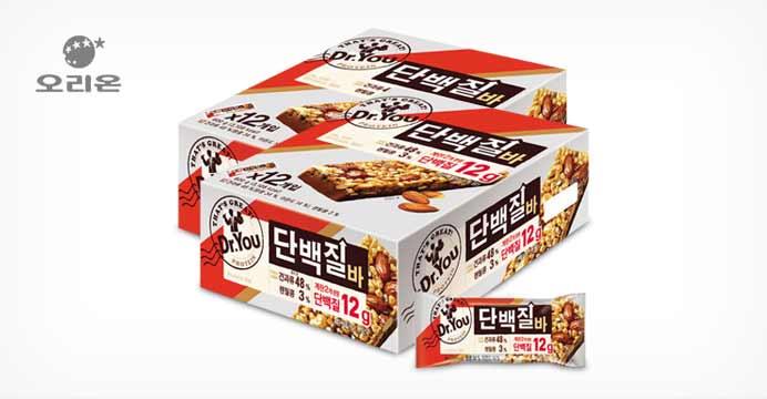 닥터유 단백질바50gx24개(2박스)