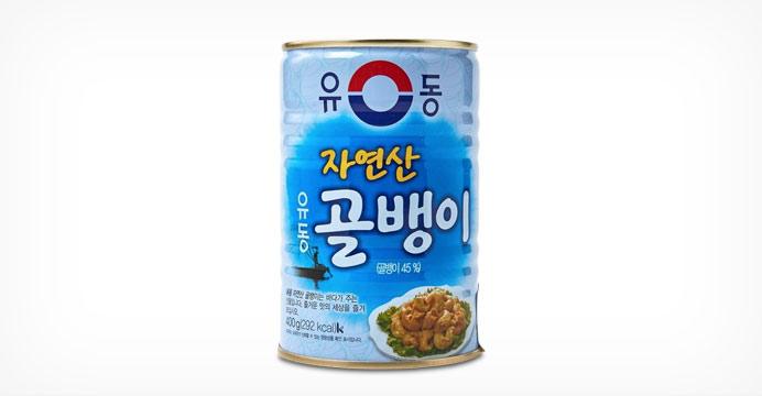 [유동공식몰]자연산골뱅이 400g