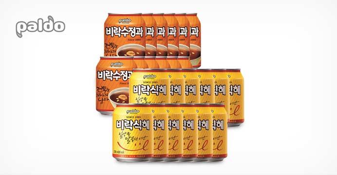 [10%쿠폰]비락수정과12개+비락식혜12개