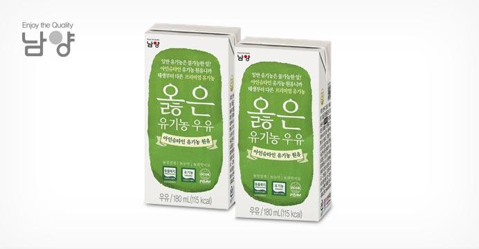 옳은 유기농우유 180mlX48팩