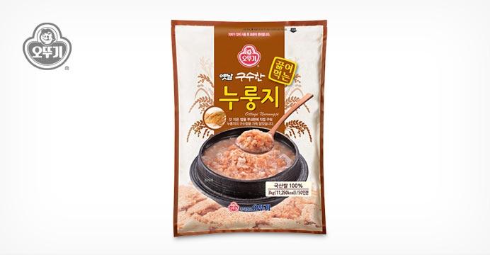 오뚜기 옛날 구수한 끓여먹는 누룽지 3KG
